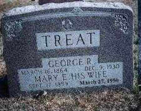 TREAT, MARY E. - Stone County, Arkansas | MARY E. TREAT - Arkansas Gravestone Photos