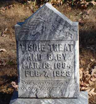LAWRENCE TREAT, TISHIE - Stone County, Arkansas | TISHIE LAWRENCE TREAT - Arkansas Gravestone Photos