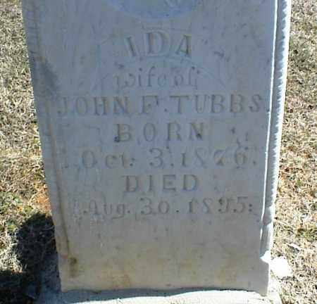 TUBBS, IDA - Stone County, Arkansas | IDA TUBBS - Arkansas Gravestone Photos