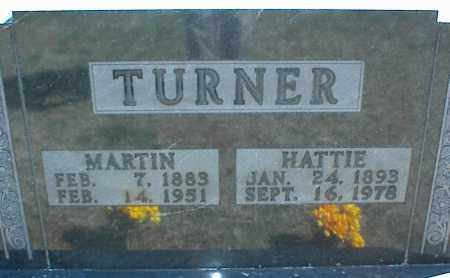 TURNER, HATTIE - Stone County, Arkansas | HATTIE TURNER - Arkansas Gravestone Photos