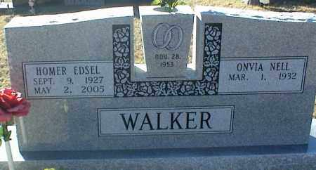 WALKER, HOMER EDSEL - Stone County, Arkansas | HOMER EDSEL WALKER - Arkansas Gravestone Photos