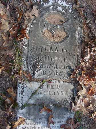 JEFFERY WALLACE, ATLANTIC - Stone County, Arkansas | ATLANTIC JEFFERY WALLACE - Arkansas Gravestone Photos