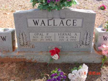 WALLACE, OPAL - Stone County, Arkansas | OPAL WALLACE - Arkansas Gravestone Photos