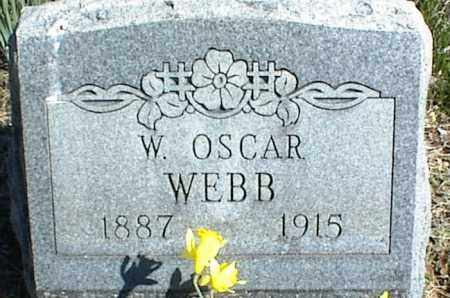 WEBB, W. OSCAR - Stone County, Arkansas | W. OSCAR WEBB - Arkansas Gravestone Photos