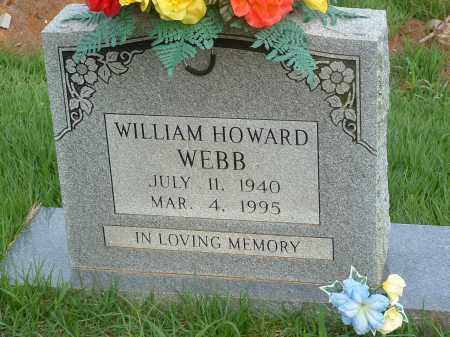 WEBB, WILLIAM HOWARD - Stone County, Arkansas | WILLIAM HOWARD WEBB - Arkansas Gravestone Photos