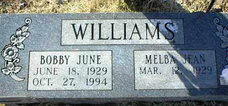 WILLIAMS, BOBBY JUNE - Stone County, Arkansas | BOBBY JUNE WILLIAMS - Arkansas Gravestone Photos