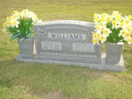 WILLIAMS, SARAH F. - Stone County, Arkansas | SARAH F. WILLIAMS - Arkansas Gravestone Photos