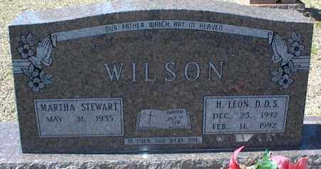 WILSON, H. LEON - Stone County, Arkansas | H. LEON WILSON - Arkansas Gravestone Photos