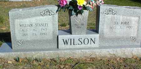 WILSON, WILLIAM STANLEY - Stone County, Arkansas | WILLIAM STANLEY WILSON - Arkansas Gravestone Photos