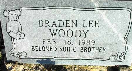 WOODY, BRADEN LEE - Stone County, Arkansas | BRADEN LEE WOODY - Arkansas Gravestone Photos