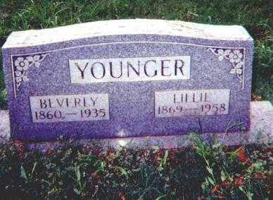 INLOW YOUNGER, LILLIE - Stone County, Arkansas | LILLIE INLOW YOUNGER - Arkansas Gravestone Photos