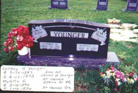 YOUNGER, LOTHEY H. - Stone County, Arkansas | LOTHEY H. YOUNGER - Arkansas Gravestone Photos