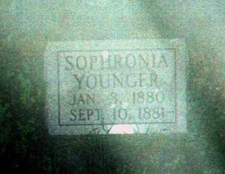 YOUNGER, SOPHRONIA - Stone County, Arkansas   SOPHRONIA YOUNGER - Arkansas Gravestone Photos