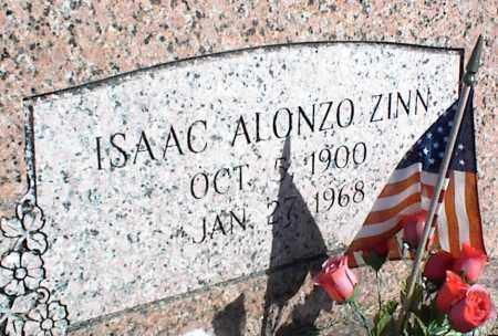ZINN, ISAAC ALONZO - Stone County, Arkansas | ISAAC ALONZO ZINN - Arkansas Gravestone Photos