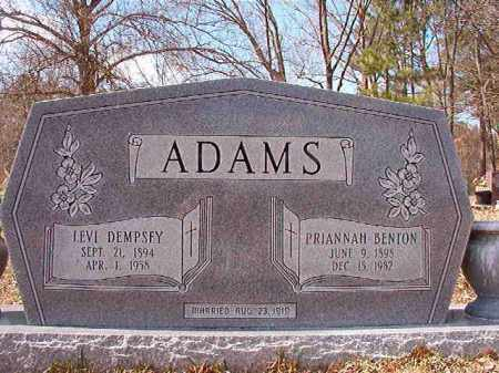 ADAMS, LEVI DEMPSEY - Union County, Arkansas | LEVI DEMPSEY ADAMS - Arkansas Gravestone Photos