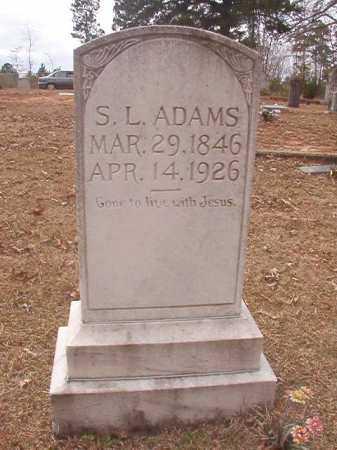ADAMS, S L - Union County, Arkansas | S L ADAMS - Arkansas Gravestone Photos