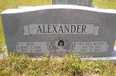 MURPHY ALEXANDER, MAE DELL - Union County, Arkansas | MAE DELL MURPHY ALEXANDER - Arkansas Gravestone Photos