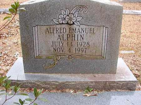 ALPHIN, ALFRED EMANUEL - Union County, Arkansas | ALFRED EMANUEL ALPHIN - Arkansas Gravestone Photos