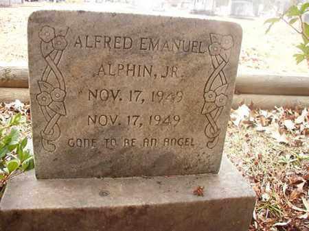 ALPHIN, JR, ALFRED EMANUEL - Union County, Arkansas | ALFRED EMANUEL ALPHIN, JR - Arkansas Gravestone Photos