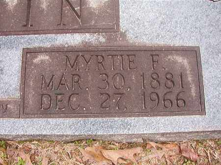 ALPHIN, MYRTIE F - Union County, Arkansas | MYRTIE F ALPHIN - Arkansas Gravestone Photos