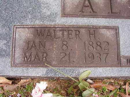 ALPHIN, WALTER H - Union County, Arkansas | WALTER H ALPHIN - Arkansas Gravestone Photos