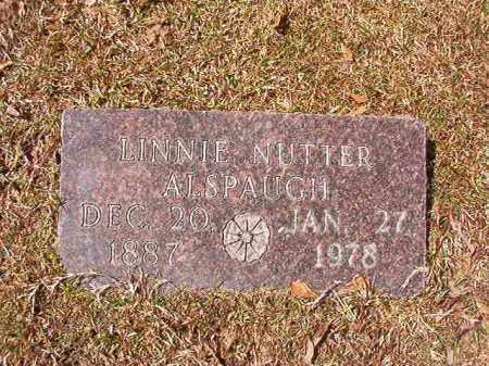 ALSPAUGH, LINNIE - Union County, Arkansas | LINNIE ALSPAUGH - Arkansas Gravestone Photos