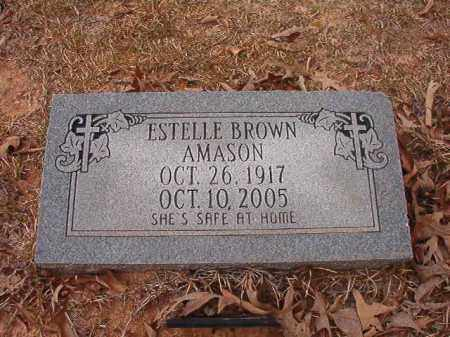 AMASON, ESTELLE - Union County, Arkansas | ESTELLE AMASON - Arkansas Gravestone Photos