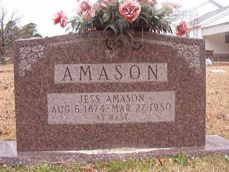 AMASON, JESS - Union County, Arkansas | JESS AMASON - Arkansas Gravestone Photos