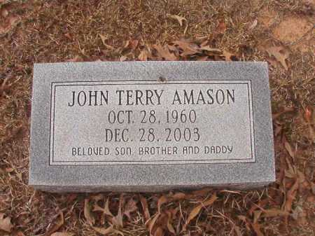 AMASON, JOHN TERRY - Union County, Arkansas | JOHN TERRY AMASON - Arkansas Gravestone Photos