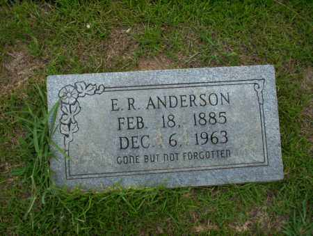 ANDERSON, E R - Union County, Arkansas | E R ANDERSON - Arkansas Gravestone Photos