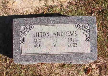 ANDREWS, TILTON - Union County, Arkansas | TILTON ANDREWS - Arkansas Gravestone Photos