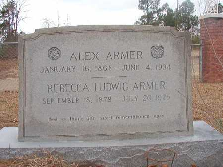 LUDWIG ARMER, REBECCA - Union County, Arkansas | REBECCA LUDWIG ARMER - Arkansas Gravestone Photos