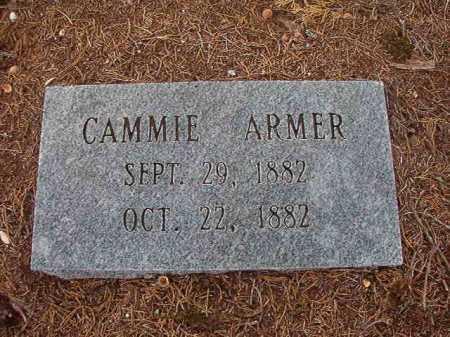 ARMER, CAMMIE - Union County, Arkansas | CAMMIE ARMER - Arkansas Gravestone Photos