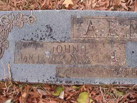 ARMER, JOHN LEMUEL - Union County, Arkansas | JOHN LEMUEL ARMER - Arkansas Gravestone Photos