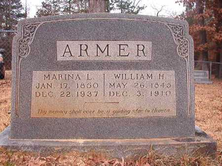 ARMER, WILLIAM H - Union County, Arkansas | WILLIAM H ARMER - Arkansas Gravestone Photos