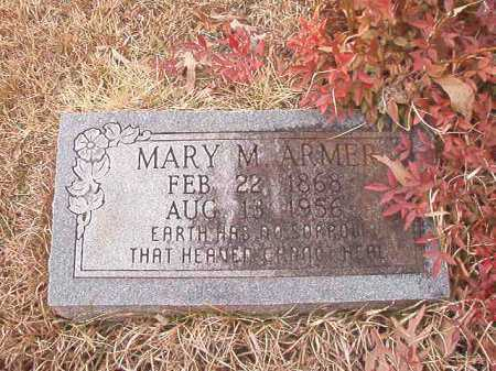 ARMER, MARY M - Union County, Arkansas | MARY M ARMER - Arkansas Gravestone Photos