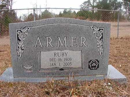 ARMER, RUBY - Union County, Arkansas | RUBY ARMER - Arkansas Gravestone Photos