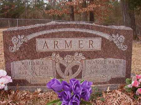 MAJOR ARMER, BEATRICE - Union County, Arkansas | BEATRICE MAJOR ARMER - Arkansas Gravestone Photos