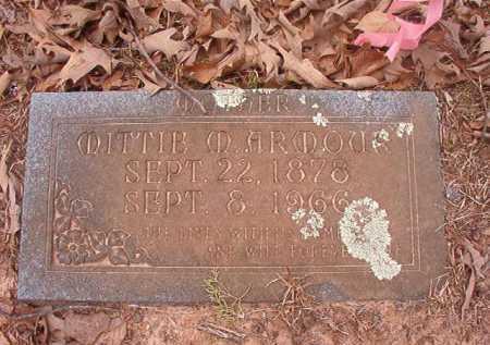 ARMOUR, MITTIE M - Union County, Arkansas | MITTIE M ARMOUR - Arkansas Gravestone Photos