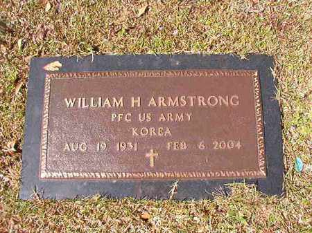 ARMSTRONG (VETERAN KOR), WILLIAM H - Union County, Arkansas | WILLIAM H ARMSTRONG (VETERAN KOR) - Arkansas Gravestone Photos