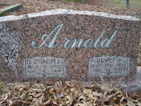 ARNOLD, DEWEY F - Union County, Arkansas | DEWEY F ARNOLD - Arkansas Gravestone Photos