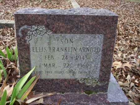 ARNOLD, ELLIS FRANKLIN - Union County, Arkansas | ELLIS FRANKLIN ARNOLD - Arkansas Gravestone Photos