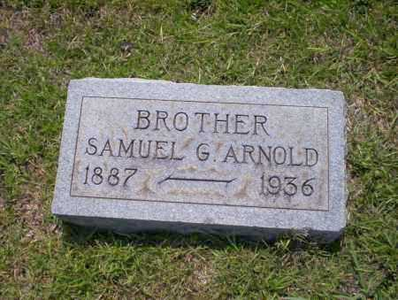 ARNOLD, SAMUEL G - Union County, Arkansas | SAMUEL G ARNOLD - Arkansas Gravestone Photos