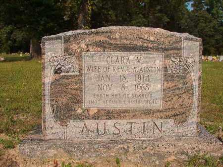 AUSTIN, CLARA V - Union County, Arkansas | CLARA V AUSTIN - Arkansas Gravestone Photos