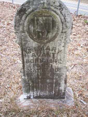 AVANT, MARY - Union County, Arkansas | MARY AVANT - Arkansas Gravestone Photos