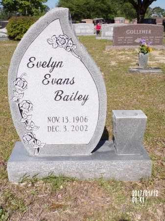 EVANS BAILEY, EVELYN - Union County, Arkansas | EVELYN EVANS BAILEY - Arkansas Gravestone Photos