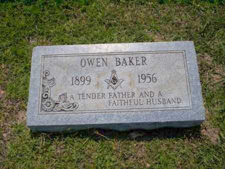 BAKER, OWEN - Union County, Arkansas | OWEN BAKER - Arkansas Gravestone Photos