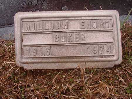 BAKER, WILLIAM EMORY - Union County, Arkansas | WILLIAM EMORY BAKER - Arkansas Gravestone Photos
