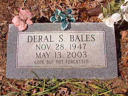 BALES, DERAL S - Union County, Arkansas | DERAL S BALES - Arkansas Gravestone Photos