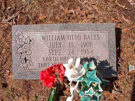 BALES, WILLIAM OTTO - Union County, Arkansas | WILLIAM OTTO BALES - Arkansas Gravestone Photos